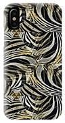 Zebra Vii IPhone Case