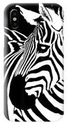 Zebra Works IPhone Case