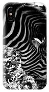 Zebra2 IPhone Case