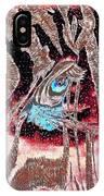 Zebras Eye - Abstract Art IPhone Case