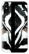 Zebras Eye - Studio Abstract  IPhone Case