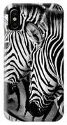Zebras Triplets IPhone Case