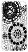 Zen Circles Design IPhone Case