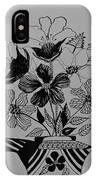 Zentangle 16-01 IPhone Case