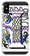 Zentangle Inspired I #2 IPhone Case