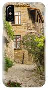 Zeytinli Village Cobblestone Lane IPhone Case