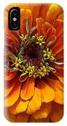 Zinnia At Frankenmuth IPhone Case