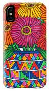 Zinnia Fiesta IPhone Case