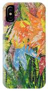 Zinnias Gone Mad IPhone Case