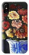 Zinnias IPhone Case