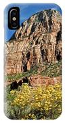 Zion Canyon - Navajo Sandstone IPhone Case