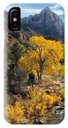 Zion Fall Foliage IPhone Case