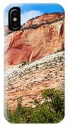 Zion Hike 1 View 2 IPhone Case