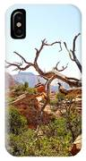 Zion Hike 1 View 4 IPhone Case