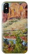 Zion Mountain Cliff IPhone X Case