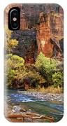 Zion National Park 57 IPhone Case