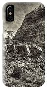 Zion National Park II IPhone Case