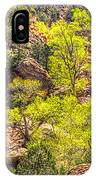 Zion National Park Small Tributary Of The Virgin River IPhone Case