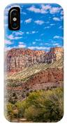 Zion Panoramic Coudy Sky IPhone Case