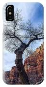 Zion Tree Woman IPhone Case