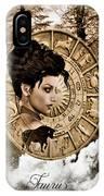 Zodiac Signs - Taurus IPhone Case