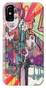 Zoni.girl Du Jour IPhone Case