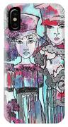 Zoni.girl Haute Couture IPhone Case
