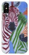Zzzebras IPhone Case