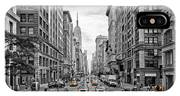 5th Avenue Nyc Traffic IPhone Case
