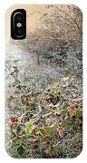Autumn Frosts IPhone Case