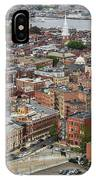 Boston Government Center, North End And Harbor IPhone Case