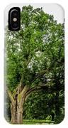 Centennial Oak, Salem Oak Tree IPhone Case by Louis Dallara