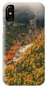Crawford Notch Fall Foliage IPhone Case