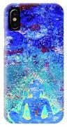 Enlightenment Blue IPhone Case