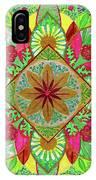 Flower Garden Mandala IPhone Case