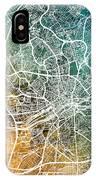 Frankfurt Germany City Map IPhone Case