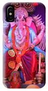 Ganesha3 IPhone Case