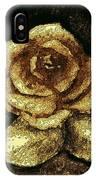 Antique Gold Rose IPhone Case