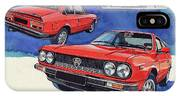 Lancia Beta 1300 IPhone Case