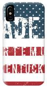 Made In Artemus, Kentucky IPhone Case