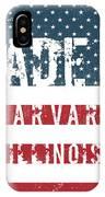 Made In Harvard, Illinois IPhone X Case