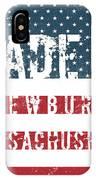 Made In Newbury, Massachusetts IPhone Case