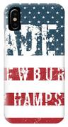 Made In Newbury, New Hampshire IPhone Case