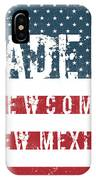 Made In Newcomb, New Mexico IPhone Case