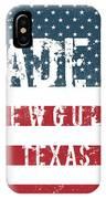 Made In Newgulf, Texas IPhone Case