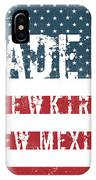 Made In Newkirk, New Mexico IPhone Case