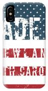 Made In Newland, North Carolina IPhone Case