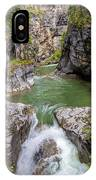 Maligne Canyon IPhone Case by Paul Schultz