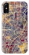 Munich Germany City Map IPhone Case