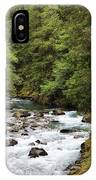 Ohanapecosh River IPhone Case